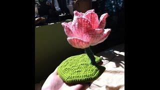 Crochet Lotus Flower Design Collection