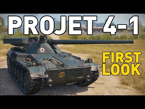 PROJET 4-1 - First Look in World of Tanks!