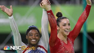 Simone Biles reveals she and Aly nearly 'puked' before Rio all-around I NBC Sports
