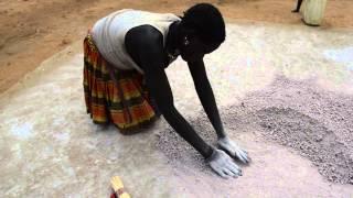 preview picture of video 'Life in Karamoja - Preparing Sorghum to Make Beer'