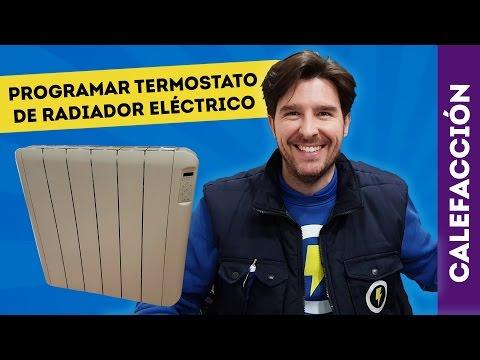 CÓMO PROGRAMAR RADIADOR ELÉCTRICO