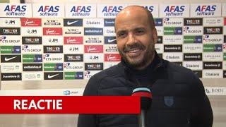 Jansen: 'Eerder afstand nemen'   AZ - Sparta Rotterdam