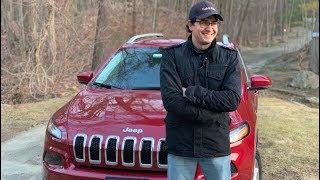 «Пухлый» интерьер от Джип Чероки Лимитед 2015 (Jeep Cherokee Limited) - ОБЗОР