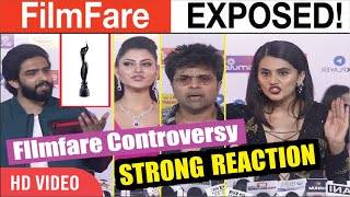 Bollywood Celebrity Strong Reaction On Filmfare Controversy | Filmfare Awards 2020 Exposed