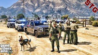 SLICKTOP TAHOE| SHERIFF MONDAY PATROL!!!| #143 (GTA 5 REAL LIFE PC POLICE MOD) 1 HOUR