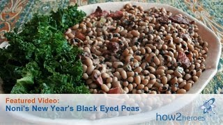 Southern Black Eyed Peas Recipe