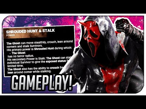 """Dead By Daylight - """"The Ghost"""" Gameplay & Power Breakdown! - """"Ghostface"""" Power Explained!"""