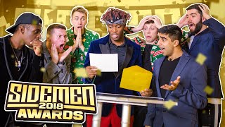 SIDEMEN YOUTUBE AWARDS 2018