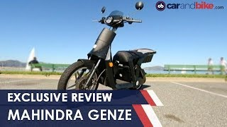 Exclusive: Mahindra Genze Electric Scooter Review