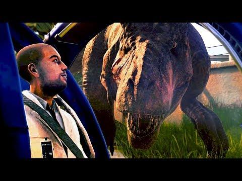 Deixei o T-REX Com FOME!, Grandes PROBLEMAS! | Jurassic World Evolution (#41) (PT-BR)