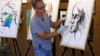 Charcoal Drawing Techniques | Art Workshops, Mixed Media Figure Drawing & Painting, Artist Mentor