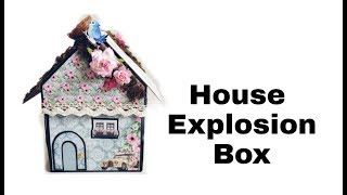 House Explosion Box Tutorial | How To Make Explosion Box