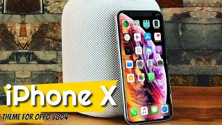 OPPO (ColorOS) theme iPhone XS - hmong video