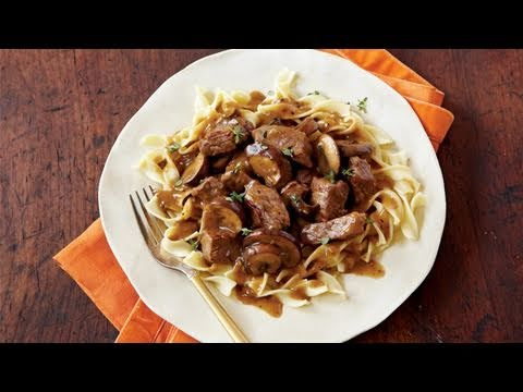 Steak Tips with Peppered Mushroom Gravy Recipe