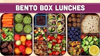 Bento Box Lunches | Healthy & Vegan! - Mind Over Munch