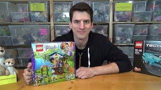 LEGO® Friends 41335 - Mias Baumhaus - Unboxing, Building, Review