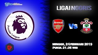 Jadwal Pertandingan Liga Inggris, Arsenal Vs Southampton, Minggu Pukul 21.05 WIB