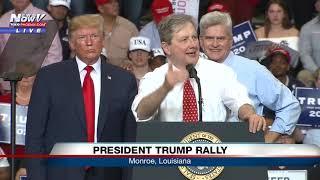 "SENATOR SLAMS PELOSI: Says ""It must suck to be that dumb"" during Trump rally"