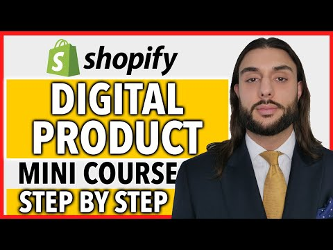 FREE Digital Product Shopify Course   COMPLETE A Z BLUEPRINT