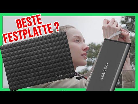 Externe Festplatte Vergleich Test & Review 500 GB - 10 TB für PC, MAC, PS4, XBOX ... USB HDD 2020