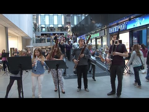 James Bond Skyfall ► Flash Mob SONG BY Adele  in Ostrava CZECH REPUBLIC