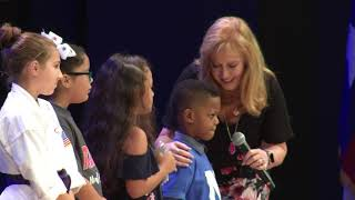 A Lesson on Gratitude From an Incoming First Grade Student