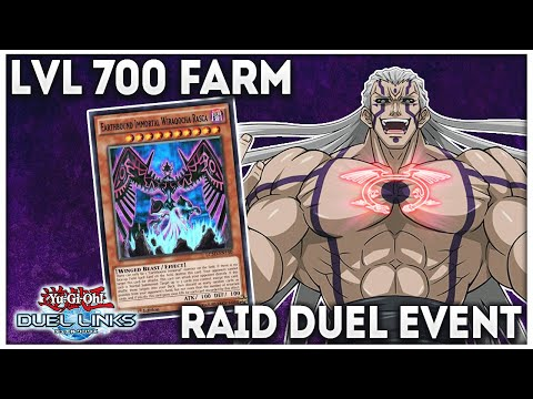 How to Farm Dark Signer Rex Goodwin Lvl 700 - Raid Duel Event [Yu-Gi-Oh! Duel Links]