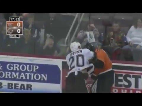 Tyrell Goulbourne vs Liam O'Brien