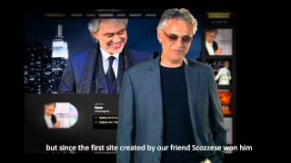 Andrea Bocelli - Jokes with the web site