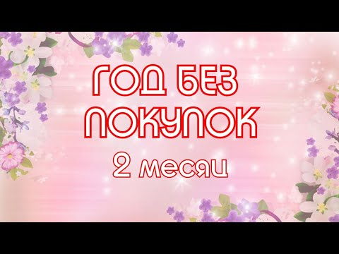 ГОД Без Покупок Спустя 2 Месяца // Elena Pero