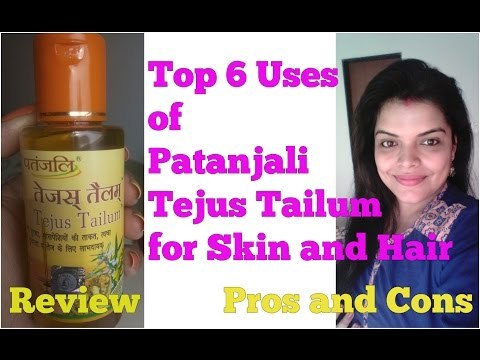 , title : 'PATANJALI TEJUS TAILUM USES for FACE HAIR, REVIEW, BENEFITS in HINDI, पतंजलि तेजस तैलम्'