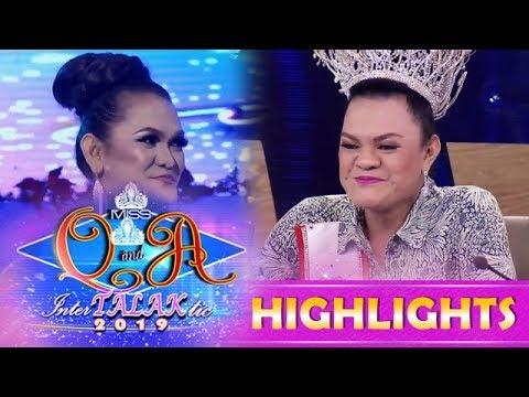 It's Showtime Miss Q & A: Juliana Parizcova Segovia finds her look-alike