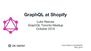 Transcript for GraphQL Services in Rails by Luke Reeves