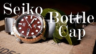 A Cap Worth Collecting? Seiko Bottle Cap Review (SRPC68)