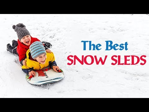 Top 5: Best Snow Sleds Reviews
