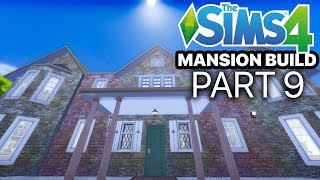 The Sims 4 - MANSION BUILD - Part 9 (Teen Girl & Boys Rooms)
