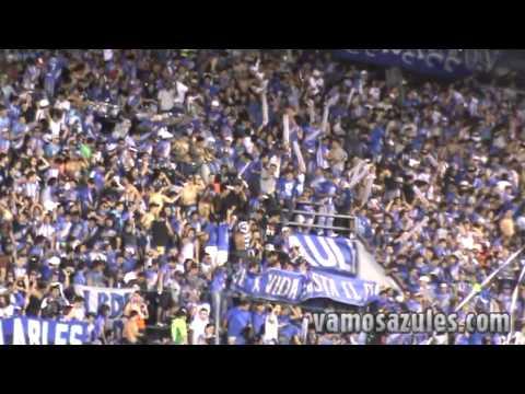 """""""Hoy hay que ganar millonario. Emelec - Olimpia 18/09/2012"""" Barra: Boca del Pozo • Club: Emelec"""