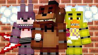 MINE Nights at Freddy's | Day 1 | FNAF Minecraft Roleplay