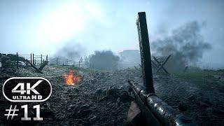 Battlefield 1 4K Gameplay Walkthrough Part 11 - BF1 Campaign 4K 60fps