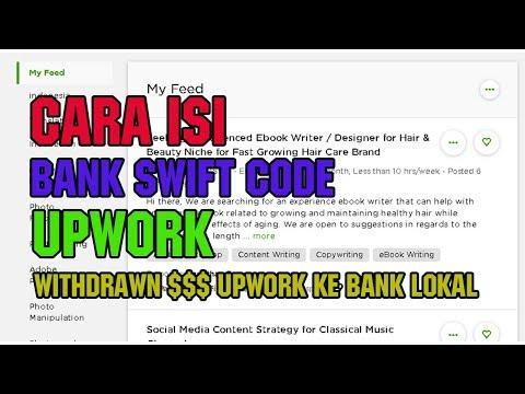 Cara Withdraw Uang Dollar di Upwork ke Bank Lokal
