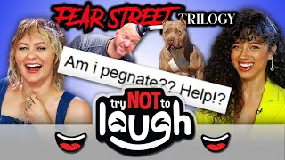 Try To Watch This Without Laughing Or Grinning (ft. The Cast of Netflix's Fear Street)