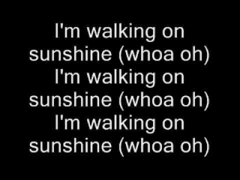 Aly & AJ Walking On Sunshine w/Lyrics