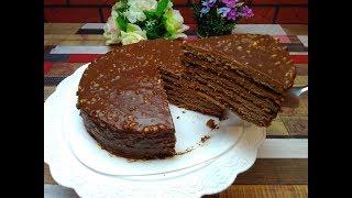 Самый Вкусный и Быстрый  Шоколадный Медовый Тортик