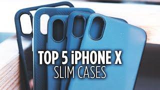 Top 5 Slim iPhone X Cases
