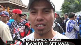 Ribuan Suporter Aremania Mengiringi Proses Pemakaman Suporter Aremania  INews Pagi 21/12