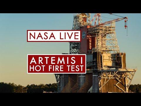 Second test du SLS da la NASA - succès!