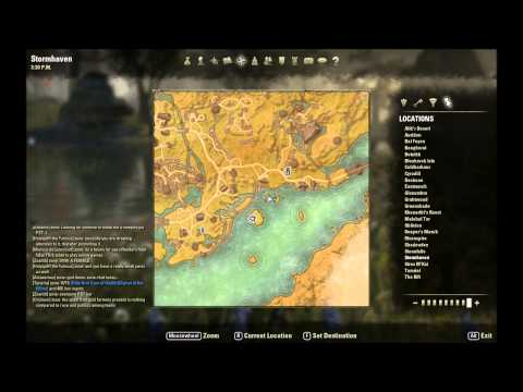ESO Skyshard Locations - Treasure Map Locations and ...