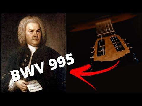 Suite BWV 995 - Prelude et Fugue. Johann Sebastian Bach