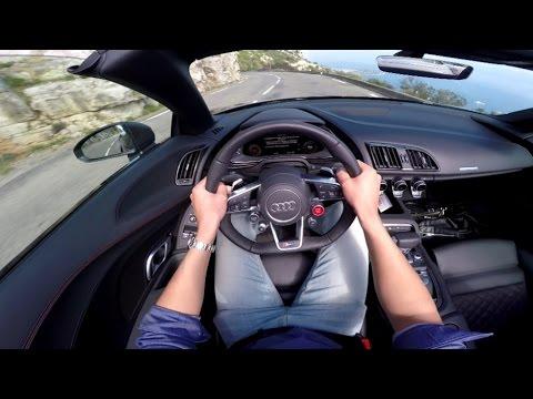 Audi R8 Spyder Купе класса A - тест-драйв 3