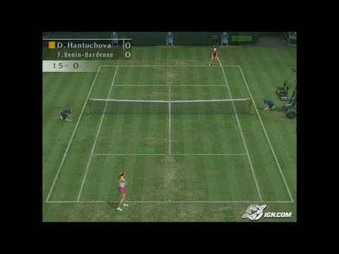 Smash Court Tennis Pro Tournament 2 Playstation 2